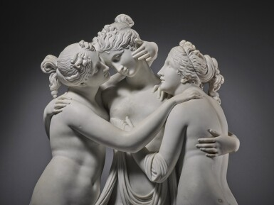 View 5. Thumbnail of Lot 218. The Three Graces.