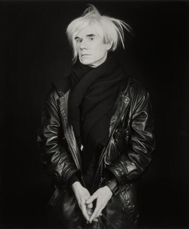 ROBERT MAPPLETHORPE | 'ANDY WARHOL', 1986