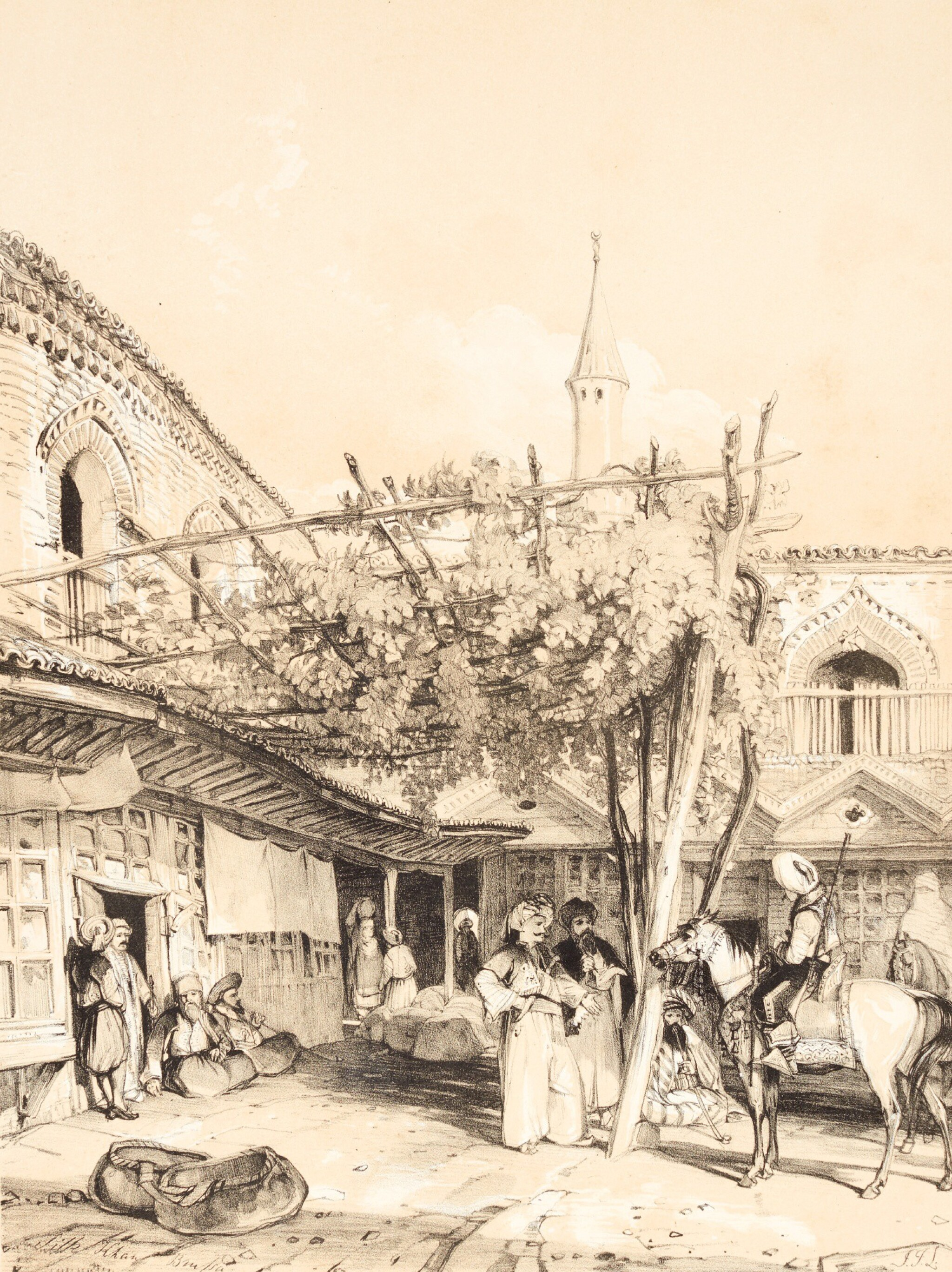 View full screen - View 1 of Lot 191. Lewis | Illustrations of Constantinople, [1838].