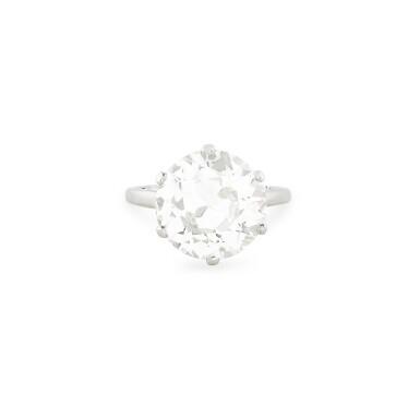 View 1. Thumbnail of Lot 16. BAGUE DIAMANT | DIAMOND RING.