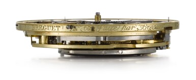 View 8. Thumbnail of Lot 28. BREGUET  [ 寶璣]    AN EXCEPTIONAL AND VERY RARE GOLD SELF-WINDING QUARTER REPEATING WATCH WITH MOON PHASES, DAY OF THE WEEK AND POWER RESERVE  NO. 60, 'PÉRPETUELLE' SOLD TO MONSIEUR JOHNSTON ON 5 JANUARY 1796 FOR 3,120 FRANCS  [ 極罕有黃金自動上鏈二問懷錶備月相、星期及動力儲存顯示,編號60,1796年1月5日以3,120法郎售出].