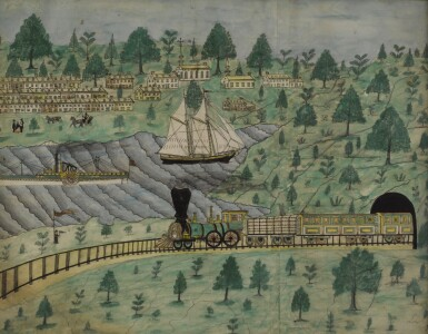 View 1. Thumbnail of Lot 1439. E.S. CARLL   AT ST. ANTHONY'S NOSE.