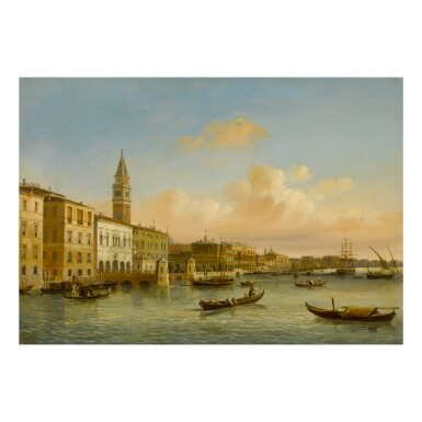 CARLO GRUBACS | VENICE, A VIEW OF THE MOLO