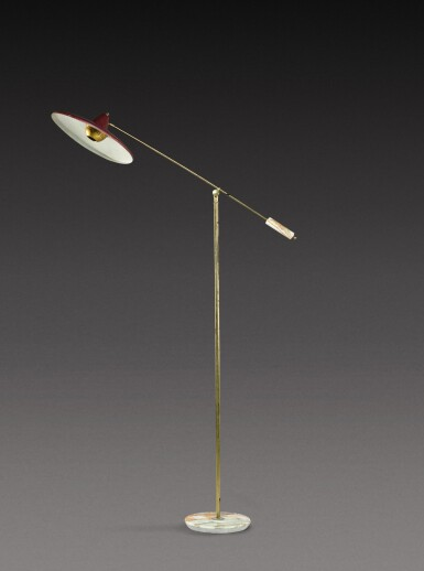 View 1. Thumbnail of Lot 184. Floor lamp.