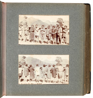 View 4. Thumbnail of Lot 308. India, Abor Expedition | 4 photograph albums, 1911-12.