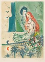 AFTER MARC CHAGALL | SIRÈNE AU POÈTE (M. CS. 27)