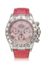 Reference 116519 'Daytona Beach'  A white gold automatic chronograph wristwatch, Circa 2000