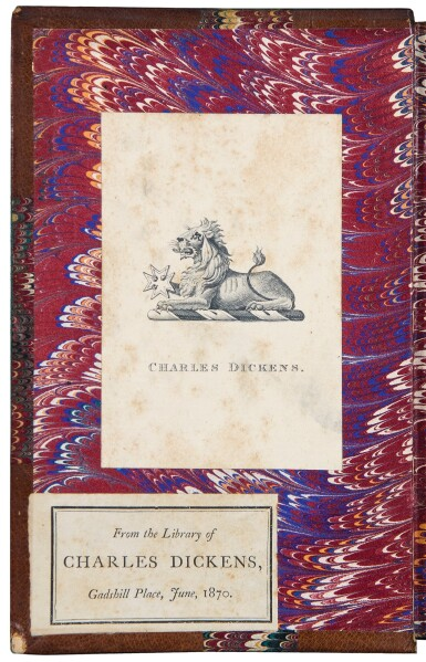 View 2. Thumbnail of Lot 49. [Dickens, Charles] — Edgar Allan Poe. Dickens personal copy of Poe's Poetical Works.