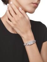 DIAMOND WRISTWATCH, CARTIER, FRANCE | 鑽石腕錶,卡地亞