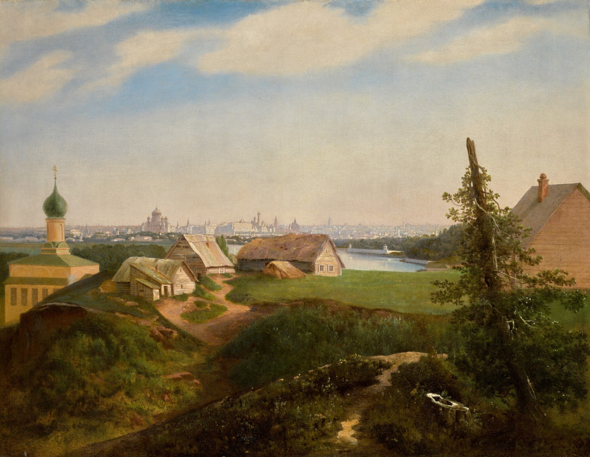 View full screen - View 1 of Lot 36. ALEXEI KONDRATIEVICH SAVRASOV | VIEW OF MOSCOW.