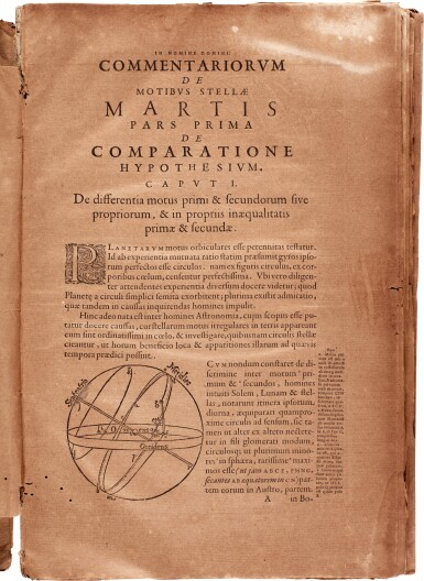 View 2. Thumbnail of Lot 30. Kepler | Astronomia nova, [Heidelberg], 1609, disbound.