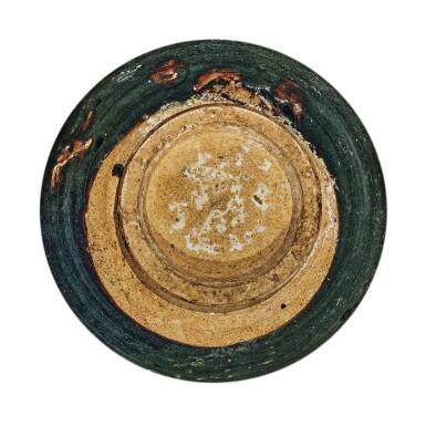 View 6. Thumbnail of Lot 104. A rare black-glazed foliate-rimmed jar, Northern Song / Jin dynasty   北宋 / 金 黑釉花口罐.