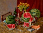VLADIMIR IVANOVICH EREMENKO | Still Life with Watermelon