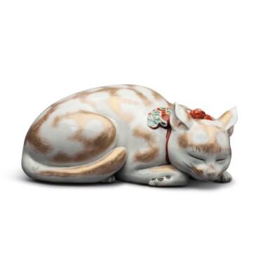 View 2. Thumbnail of Lot 14. Japan, Taisho period, 20th century  | Sleeping Cat .