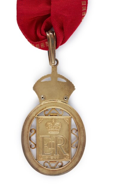 View 2. Thumbnail of Lot 17. COMPANION OF HONOUR, 1984, AWARDED BY QUEEN ELIZABETH II.