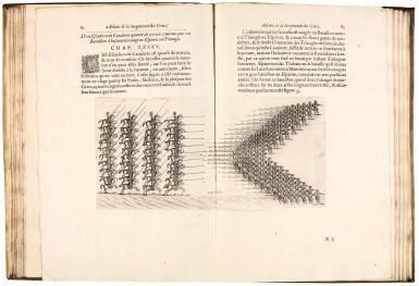 Aelianus and Polybius, La milice des grecs et romains, Paris, [1615], contemporary vellum