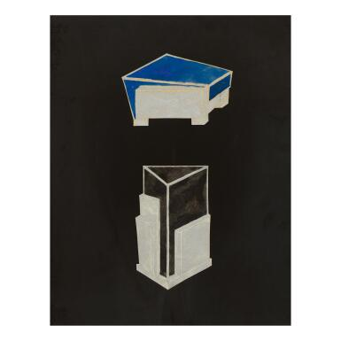 JEAN GOULDEN | STUDY FOR A BOX AND AN INCENSE-BURNER