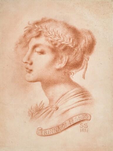 View 1. Thumbnail of Lot 15. Erinna of Lesbos.