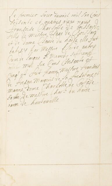 View 18. Thumbnail of Lot 40.  Horae beatissimae... Anvers, 1570.Reliure brodée de la Renaissance aux armes du duc d'Anjou..