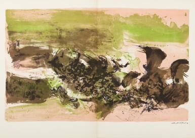 View 2. Thumbnail of Lot 181.  À la gloire de l'image.... Barcelone, 1977. 15 lithographies en couleurs. Edition originale..
