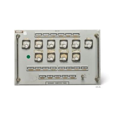 View 6. Thumbnail of Lot 105. [APOLLO PROGRAM]. SATURN V & SATURN IB/ APOLLO FIRING ROOM CONTROL PANELS.