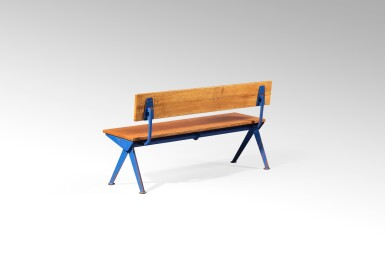 View 3. Thumbnail of Lot 31. Marcoule bench, designed in 1955.