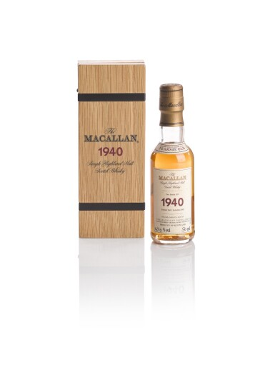 View 1. Thumbnail of Lot 145. THE MACALLAN FINE & RARE 35 YEAR OLD 43.0 ABV 1940 .