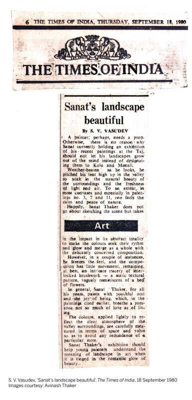View 3. Thumbnail of Lot 52. SANAT THAKER | IMPRESSIONS – KULU – MANALI IX.