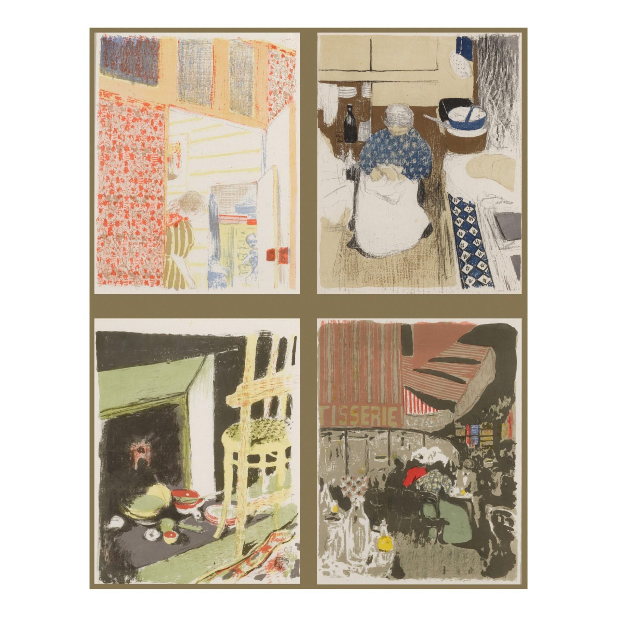 View full screen - View 1 of Lot 91. Paysages et Intérieurs (Roger-Marx 31-43).