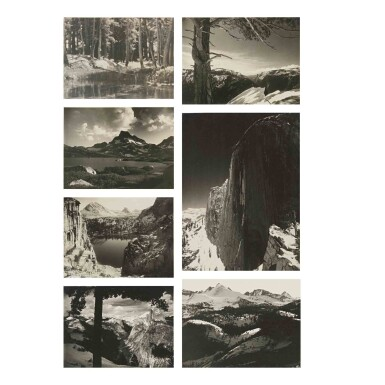 View 4. Thumbnail of Lot 91. 'Parmelian Prints of The High Sierras'.