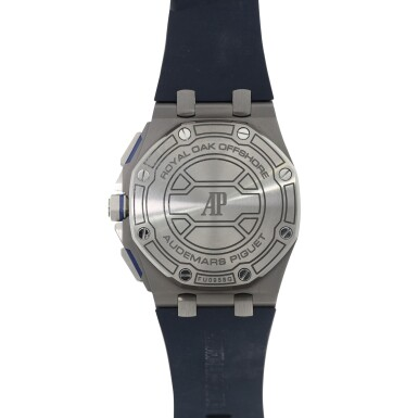 View 3. Thumbnail of Lot 8224. Royal Oak Offshore, Reference 26480TI | A titanium chronograph wristwatch with date, Circa 2020 | 愛彼 皇家橡樹離岸型系列 型號26480TI | 鈦金屬計時腕錶,備日期顯示,約2020年製.