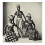 IRVING PENN   '3 DAHOMEY GIRLS'