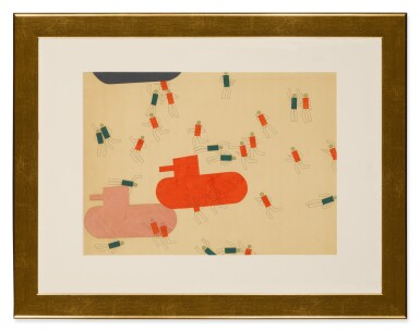 MIKHAIL CHERNYSHOV | BATTLE AND AIRPLANE WITH CIRCLES [2]