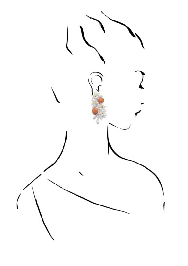 View 4. Thumbnail of Lot 17. MICHELE DELLA VALLE | PAIR OF SAPPHIRE AND DIAMOND PENDENT EARRINGS.