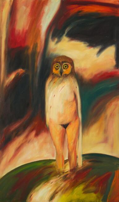 JOHN BELLANY, R.A.   OWL