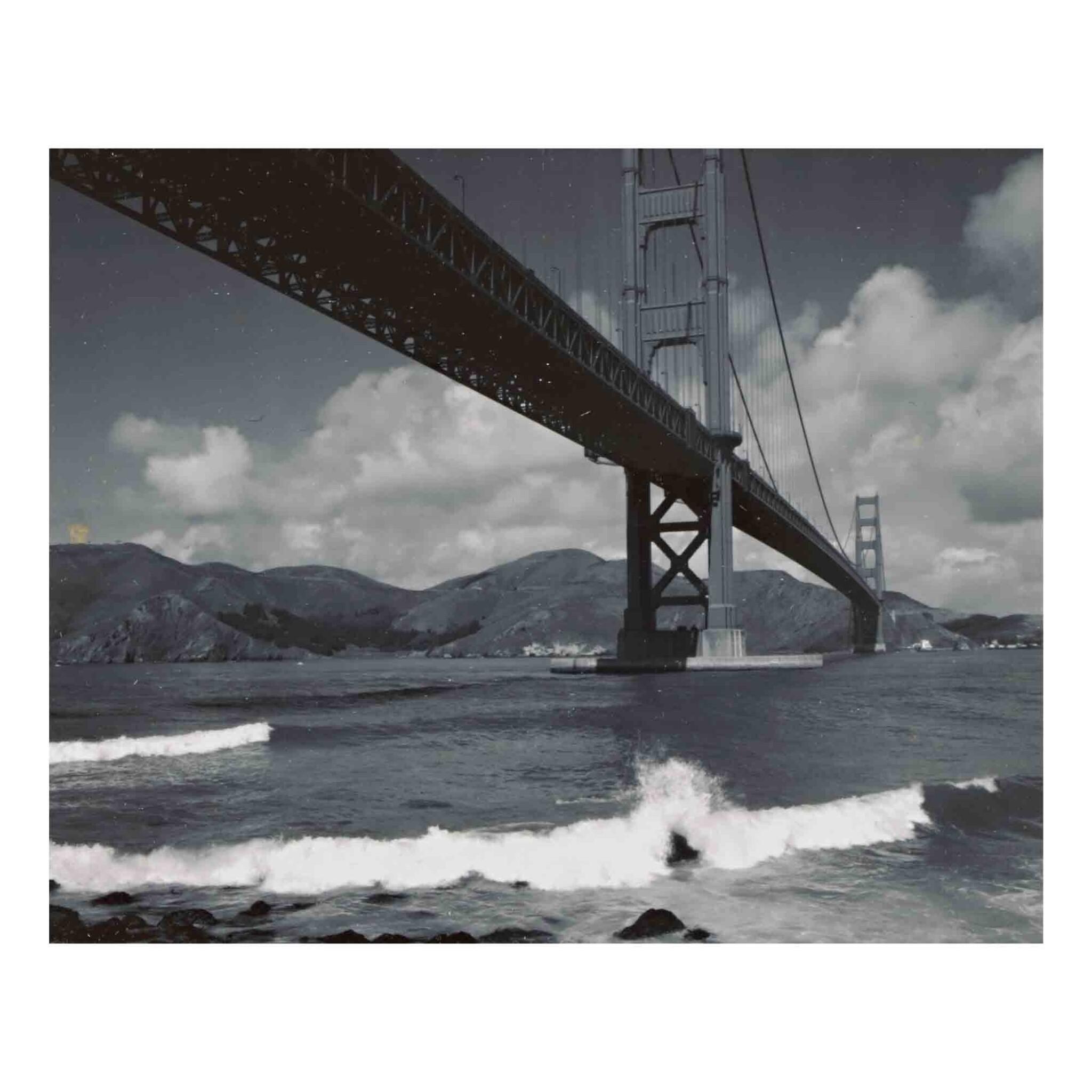 View full screen - View 1 of Lot 88. 'Golden Gate Bridge' (San Francisco, California).