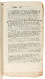 BADGER | Papers as Military Attache to Spain, 1918-19