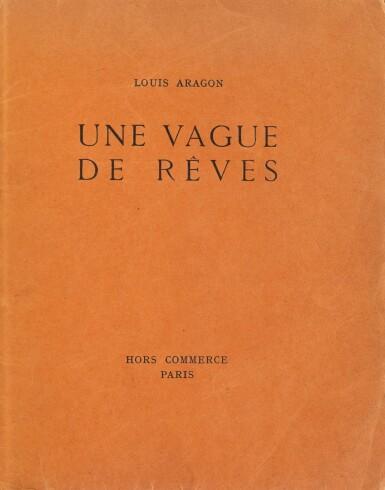View 2. Thumbnail of Lot 206. Une vague de rêves. Paris, 1924. Reliure en bois de Taral. Exemplaire d'André Gide.
