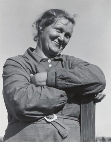 View 1. Thumbnail of Lot 66. DOROTHEA LANGE | RURAL REHABILITATION CLIENT, TULARE COUNTY, CALIFORNIA, NOVEMBER 1938.