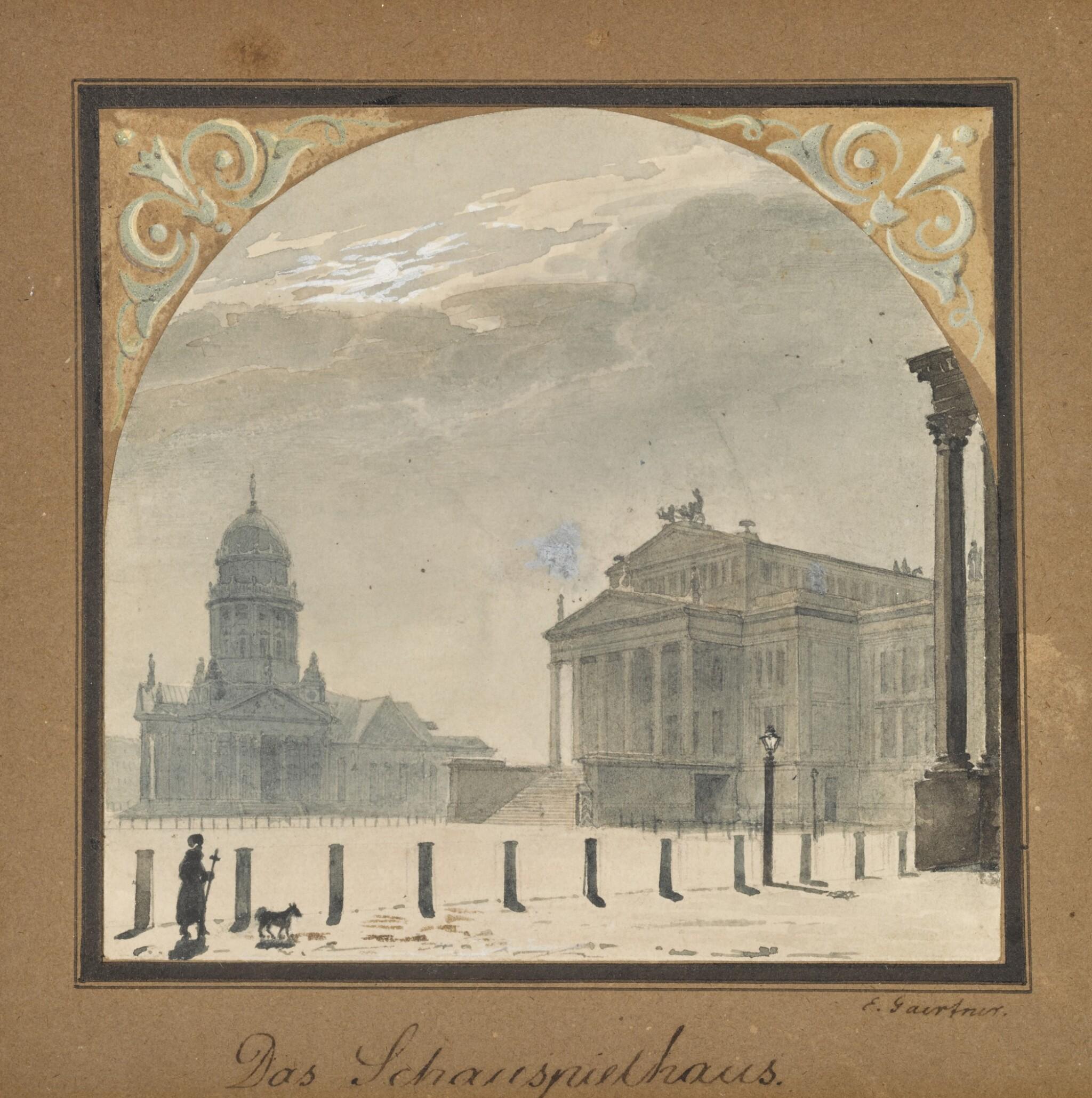 View 1 of Lot 51. Das Schauspielhaus (The Theatre).