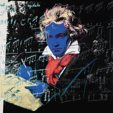 View 3. Thumbnail of Lot 188. ANDY WARHOL | BEETHOVEN (F. & S. II.390-393).
