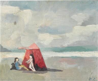 View 1. Thumbnail of Lot 67. La Tente sur la plage.