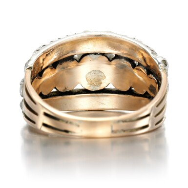 View 3. Thumbnail of Lot 2. Diamond ring, circa 1800.