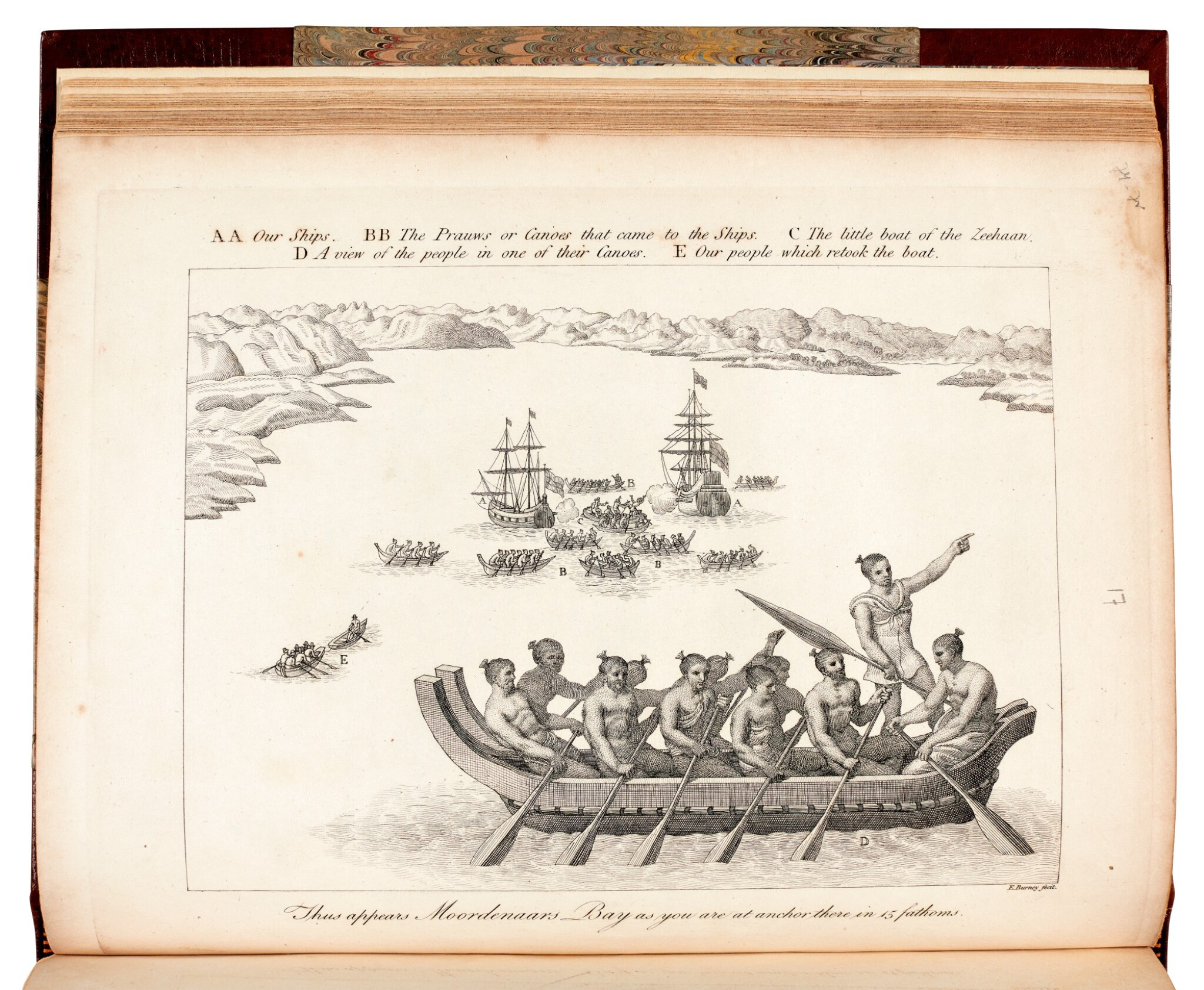 View full screen - View 1 of Lot 74. James Burney| A Chronological History of the Discoveries in the South Sea or Pacific Ocean. 1803-1817. 5 volumes.