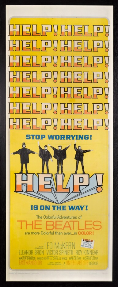 View 2. Thumbnail of Lot 39. THE BEATLES | Help!, American, 1965.