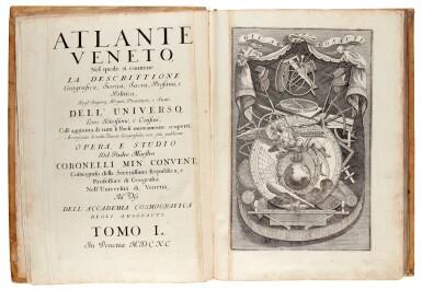 View 2. Thumbnail of Lot 21. CORONELLI   Atlante Veneto, 1691.