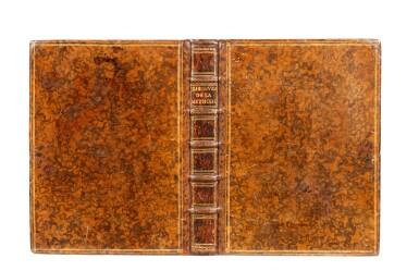 View 2. Thumbnail of Lot 15. Discours de la méthode. Leyde, Ian Maire, 1637. In-4. Reliure de l'époque. Edition originale..