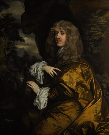 View full screen - View 1 of Lot 13. Portrait of Philip Stanhope, 2nd Earl of Chesterfield (1634–1714) |《菲利普・斯坦霍普,切斯特菲爾德伯爵二世(1634–1714年)肖像》.