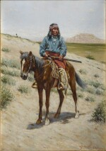 Navajo Warrior, Fort Wingate, New Mexico