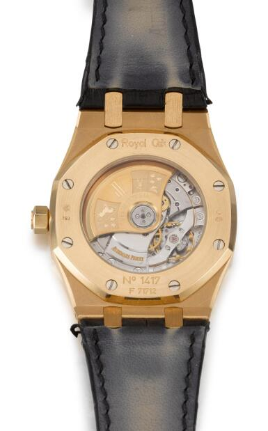 View 3. Thumbnail of Lot 31. AUDEMARS PIGUET   ROYAL OAK, REFERENCE 15300OR.OO.D002CR.01,  PINK GOLD WRISTWATCH WITH DATE,  CIRCA 2006.